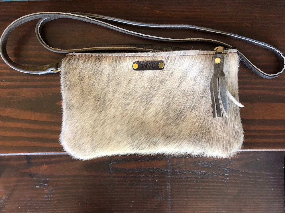 Cowhide- Large Purse
