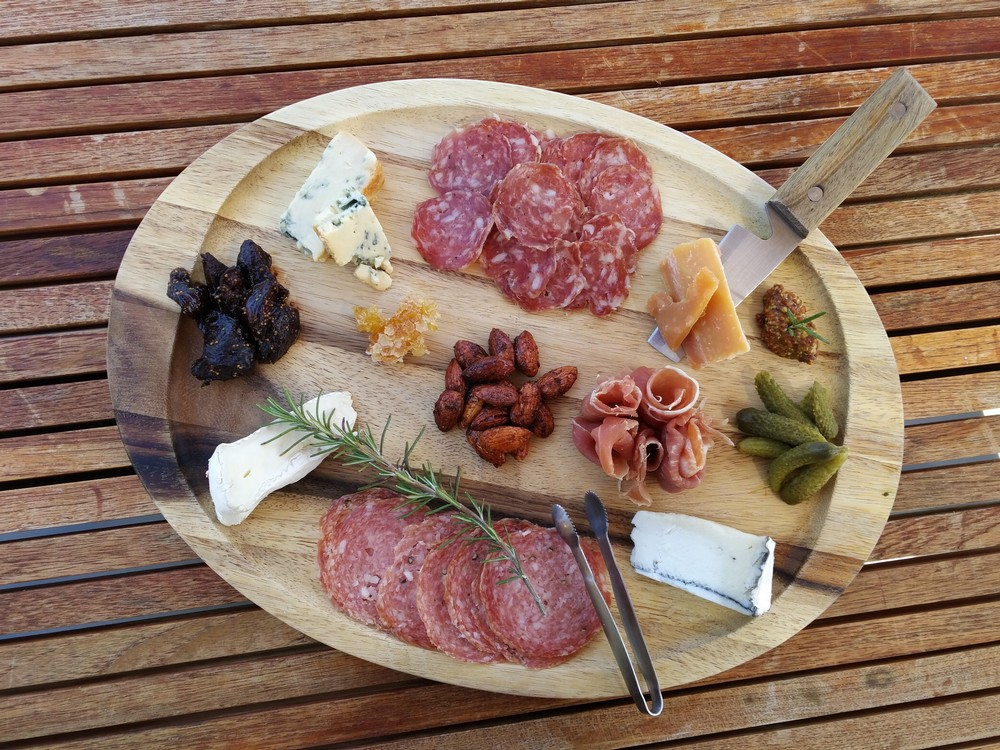 Large Cheese and Charcuterie Board